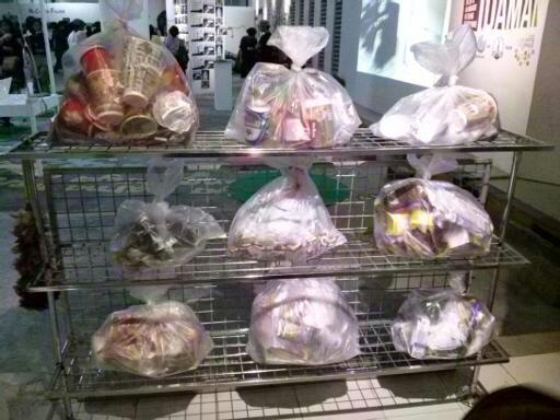 Ini sampah yang berhasil dikumpulkan Trash Squad di beberapa 7 Eleven