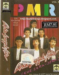 Band PMR pada masa jayanya. (Foto ambil dari Google)