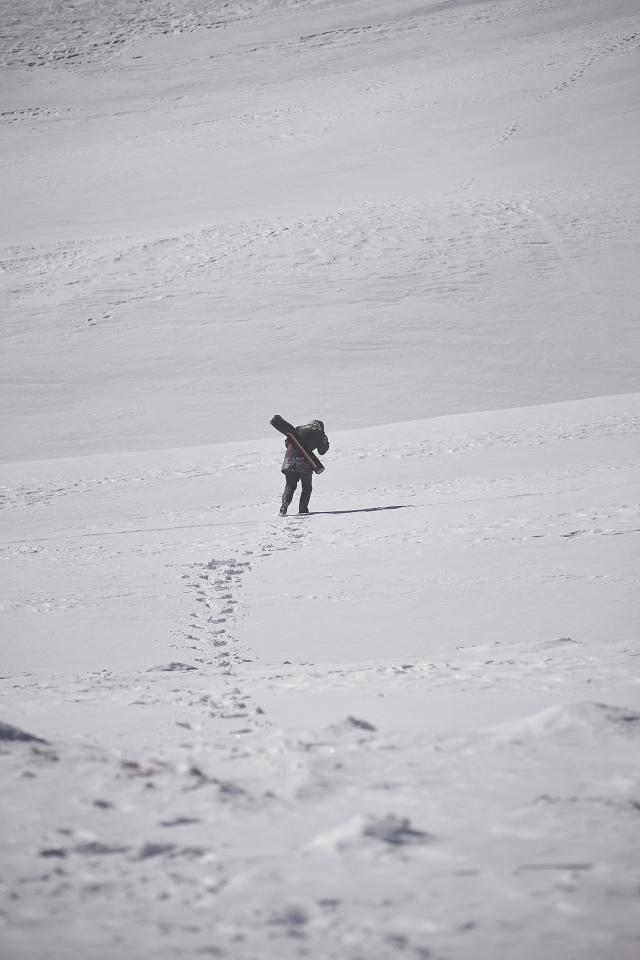 Mendaki gunung, melewati lembah.... (Lah, kayak Ninja Hatori!) (Dok. Jive)