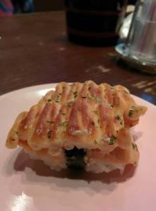 Salmon Mentai Sushi (Foto: WahyuChandraK)