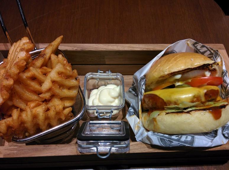 MVP Cheese Burger (75k IDR) Look at that melting cheese!